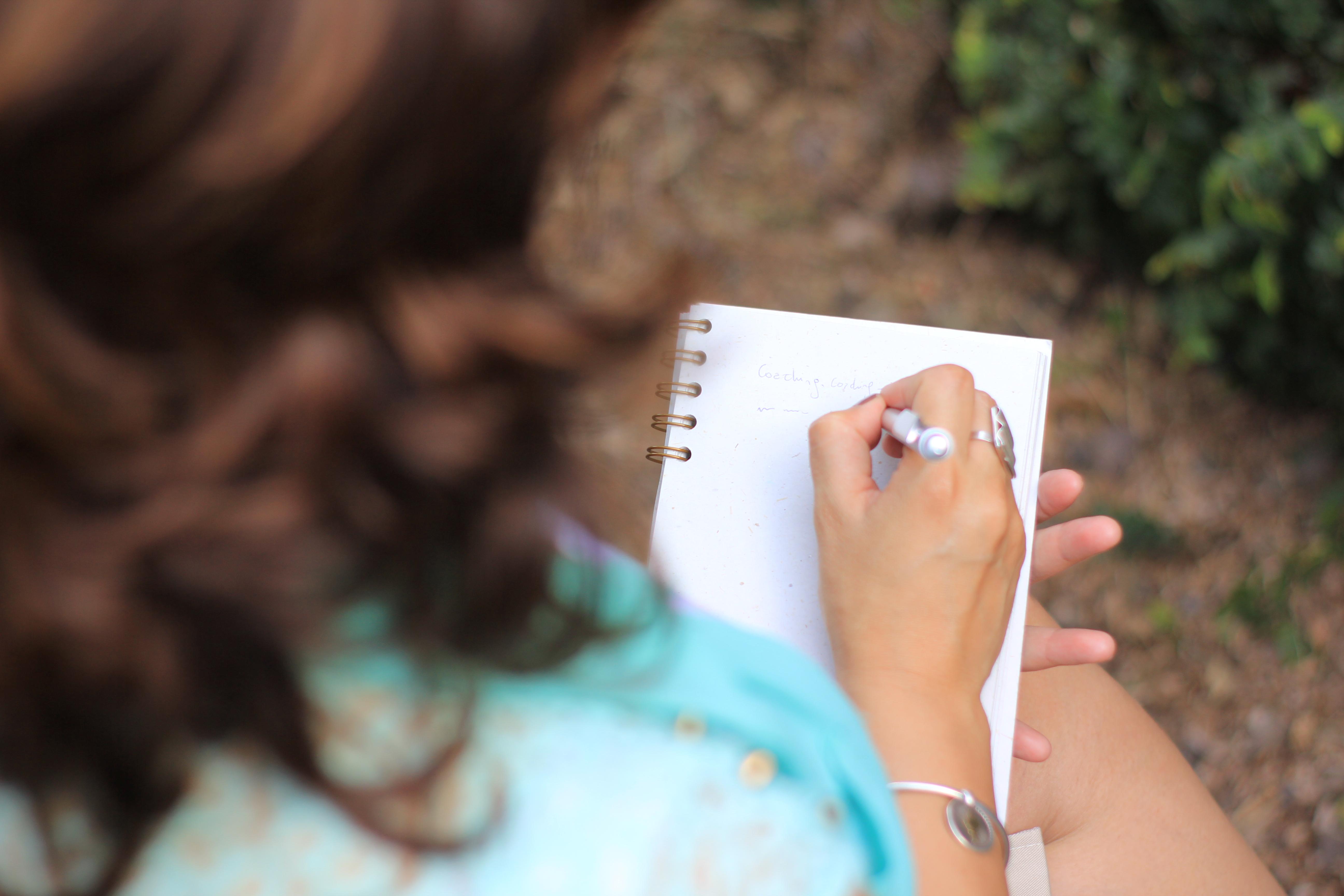 Cecilia Marrero está escribiendo su método.